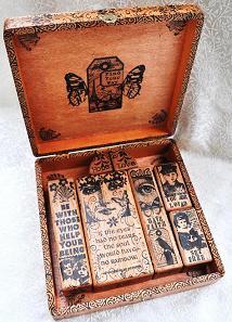 """Journey"" Art therapy Block Set w/ Treasure Box"