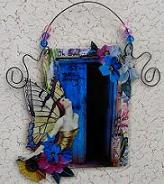 """THE OPEN DOOR"" ART DANGLE"