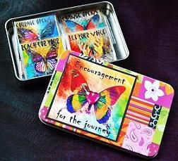 THE JOURNEY GIFT TIN/ MAGNET SET